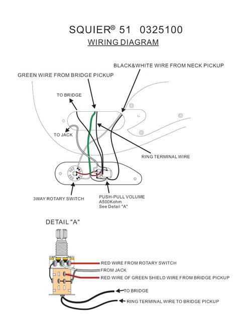 Amazing Fender Squier Bass Wiring Diagram Festooning - Schematic ...